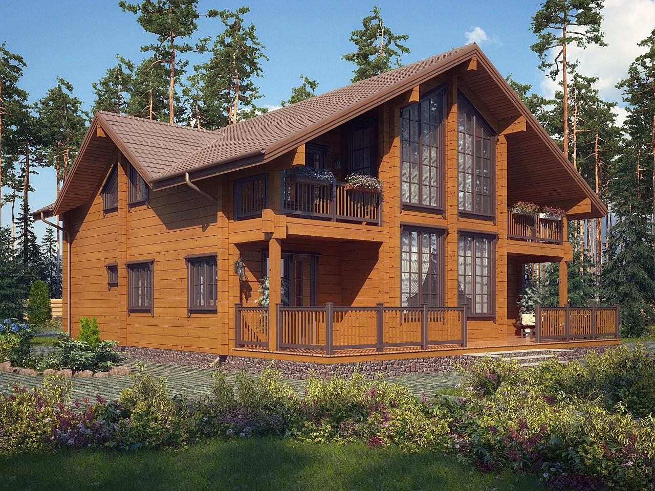 фото готовых проектов домов из бруса гимнастический фото ниже