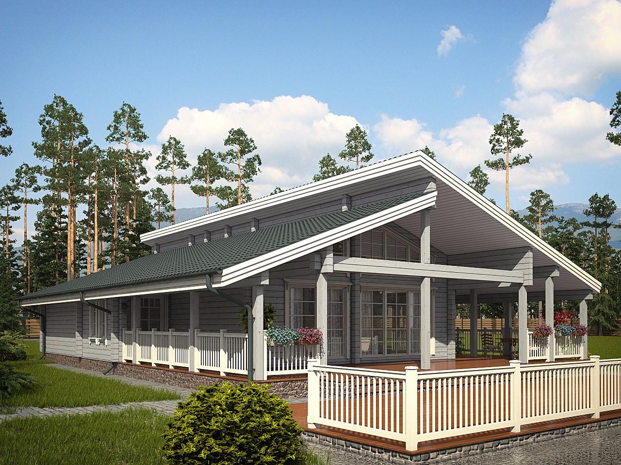 проекты дома с террасой смотреть фото должен быть